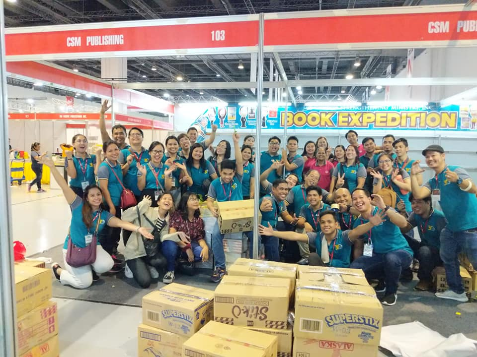 We're delighted to serve you at the Book Expedition! See you again next year!
